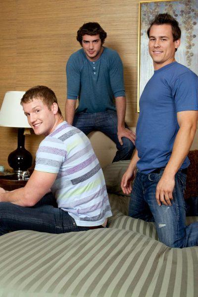 Chad, Christian & Riley
