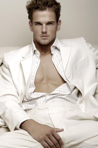 Dennis van den Eijk in his perfect suit