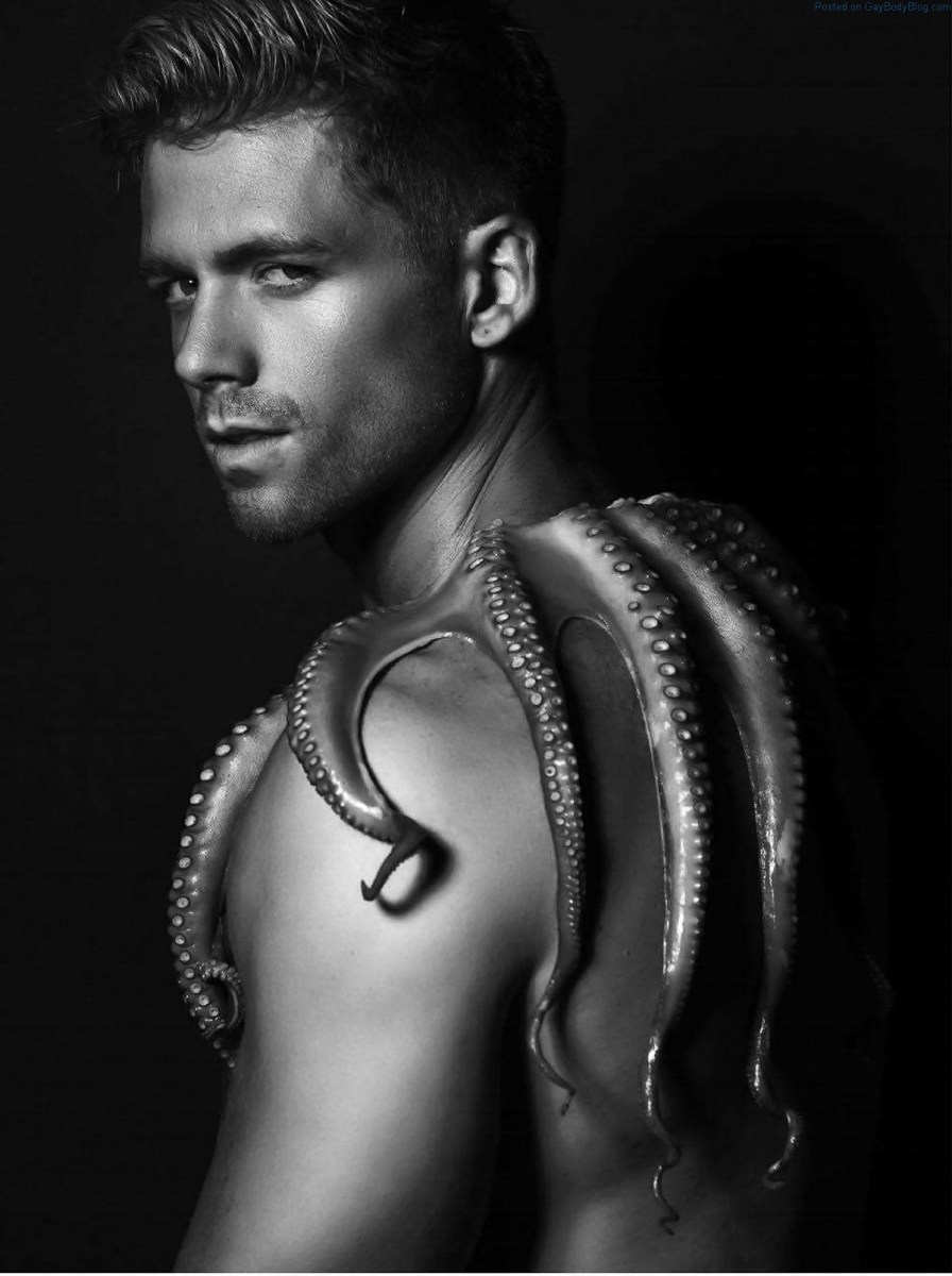 There's Something Fishy About This Shoot With Gorgeous Hunk Steven Dehler