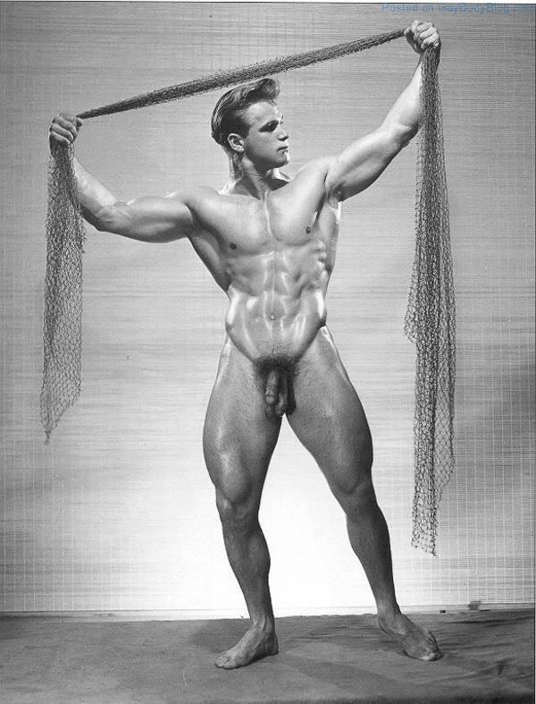 men nude muscle Vintage male