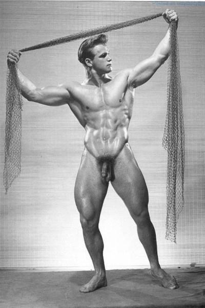 Vic Seipke naked and posing