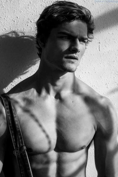 handsome jock model Aidan Anderson