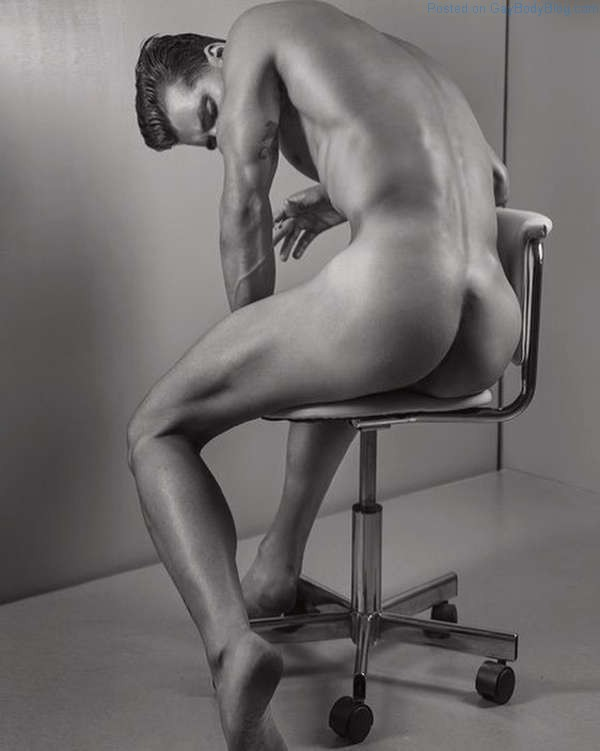andrew biernat butt shot in black and white