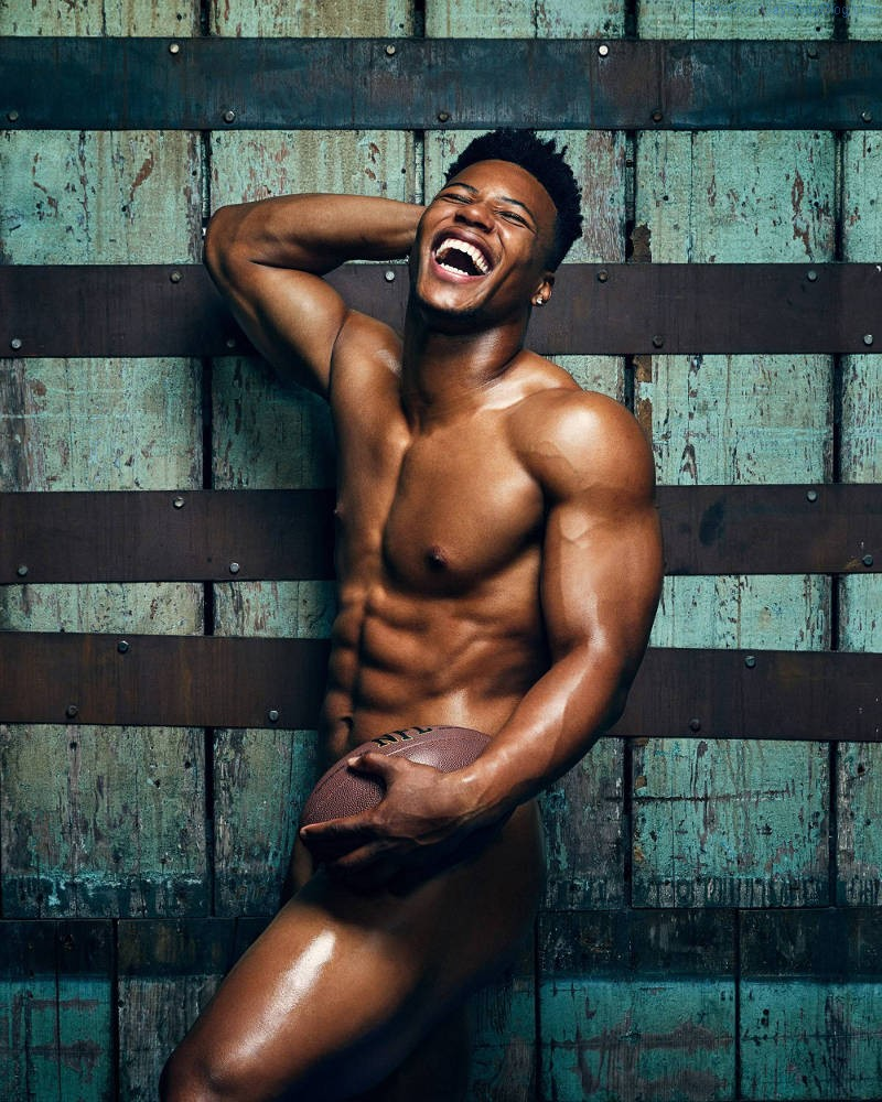 Gorgeous Saquon Barkley Naked For ESPN Body Issue 2018!