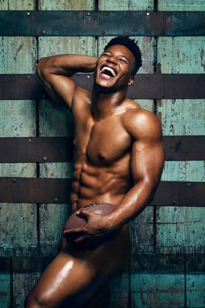 Saquon Barkley Naked For ESPN