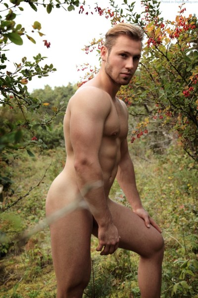 Naked In The Woods With Sexy Misha For Alex Klimov