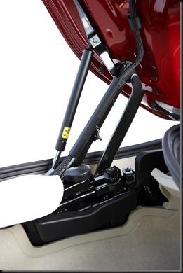 2009 Lexus IS 250C roof mechanicals