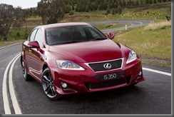 The new Lexus IS 350 F Sport as launched at the Australian International Motor Show
