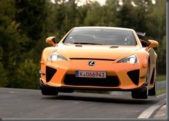 Lexus LFA sets 7:14.64 sec Nurburgring Lap (overseas model shown)