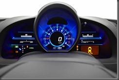 Honda CR-Z luxury speedo and dash