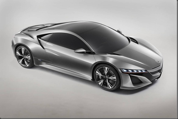 NSX concept Honda