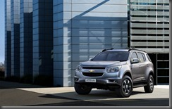 Chevrolet TraillBlazer holden colorardo front
