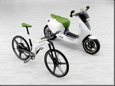 SMART scooter and ebike