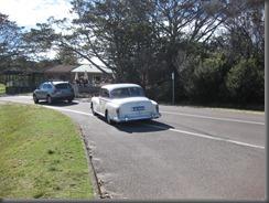 1958 mercedes 300 at north head (1)
