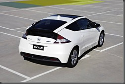 Honda CR-Z luxury rear and panoramic roof