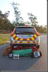 Volvo S60 R design safety car (2)