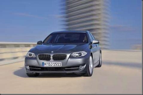 BMW 2012 5 series sedan (4)
