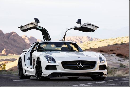 Mercedes Benz SLS AMG Black (10)