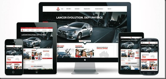 new mitsubishi website