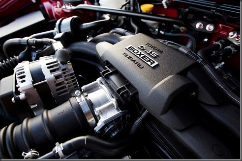 "2012 Toyota 86 ""boxer"" engine"