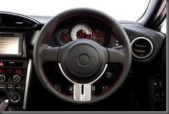 2012 Toyota 86 GTS steering wheel