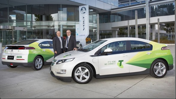 Volt Electric Vehicle Joins National Telstra Fleet (2)