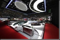 bugatti Geneva 2013 Booth