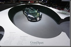 Geneva 2013 bugatti Grand Sport Green Carbon