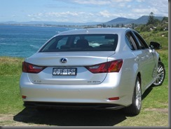 Lexus GS450h and f sport (3)