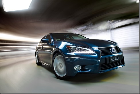 2012 Lexus GS 450h Sports Luxury (pre production model shown)