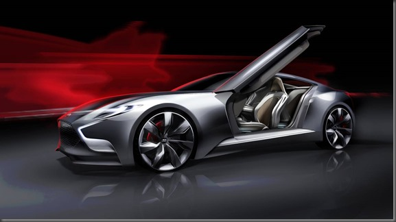 Luxury Sports Coupe Concept HND-9 (2)