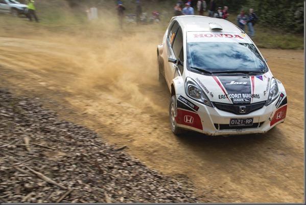International Rally QLD - Evans & Weston