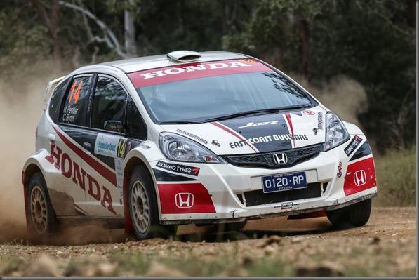 International Rally QLD - Pedder & Ryan