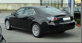 2011-Saab-9-5-rear-three-quarter