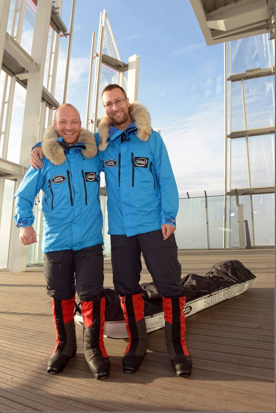 Land Rover Global Ambassador and professional explorer Ben Saunders