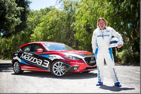 Adventurer Charley Boorman will compete in the Mazda3 Celebrity Challenge at the 2014 Formula 1® Australian Grand Prix (3)