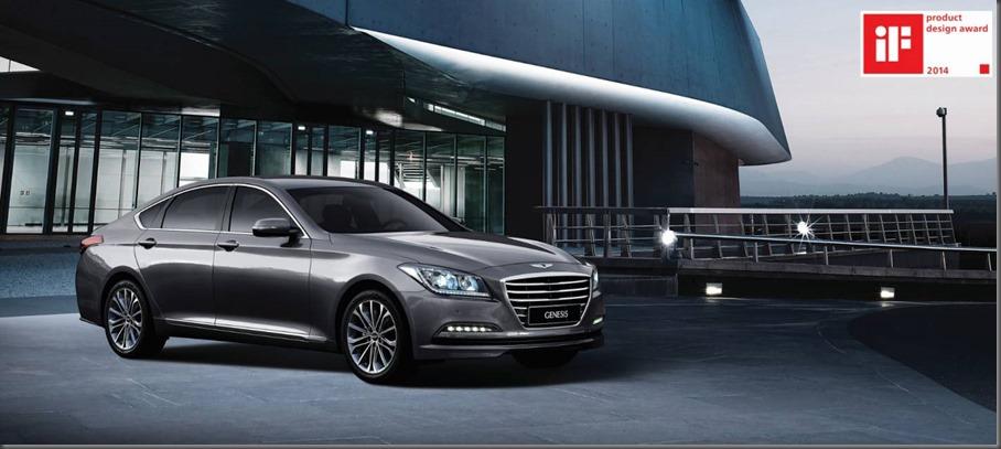 Hyundai Genesis - iF Product Design Award 2014
