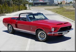 Shelby Mustang GT 350 Convertible