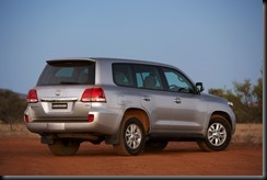 2007 Toyota LandCruiser 200 Sahara
