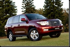 LandCruiser 200 Series – Australia's best-selling large SUV (Sahara model shown)