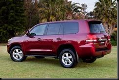 750,000 LandCruisers sold in Australia: Toyota LandCruiser Sahara (petrol)