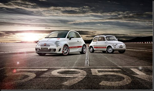 Fiat Abarth 595 '50th Anniversary gaycarboys (1)