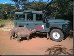 LR with Rhino land rover supports TUSK gaycarboys