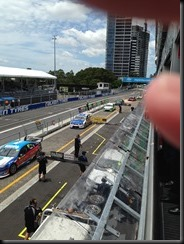 The Pits at V8 supercars Sydney Olympic Park GAYCARBOYS
