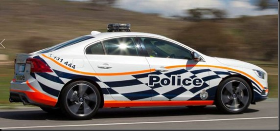 S60 T6 R-Design joins ACT Police gaycarboys (2)