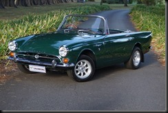 right hand drive 1965 Sunbeam Tiger V8 in very good condition will be offered with 'no reserve'