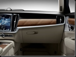Interior IP Glove box Volvo S90