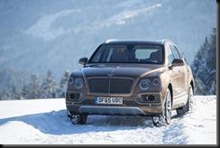 Bentley Bentayga makes Alpine debut in Kitzbühel