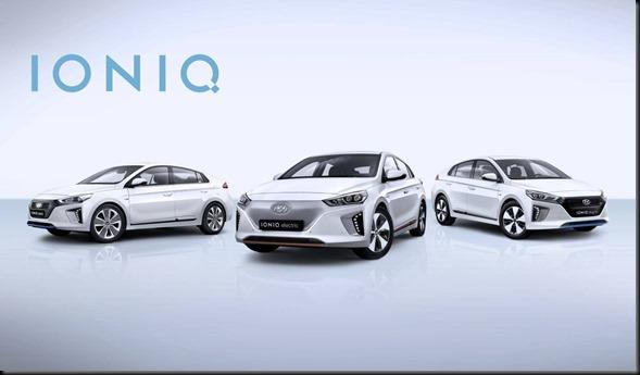 Dedicated to Disrupt All-New Hyundai IONIQ Line-Up Electrifies Geneva Motor Show