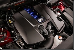 2016 Lexus GS F engine